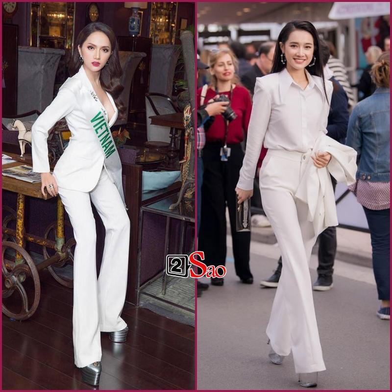 Đam mê đi cà kheo bằng giày 25cm: Hương Giang catwalk đầy thần thái, Nhã Phương cần cả chồng và trợ lý dìu-4