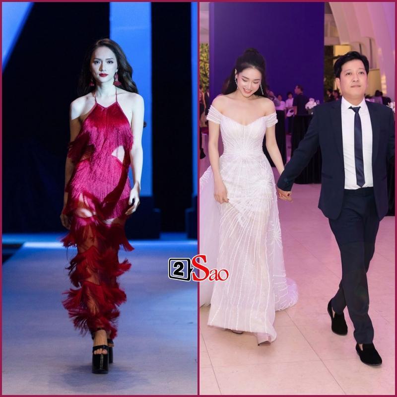 Đam mê đi cà kheo bằng giày 25cm: Hương Giang catwalk đầy thần thái, Nhã Phương cần cả chồng và trợ lý dìu-3