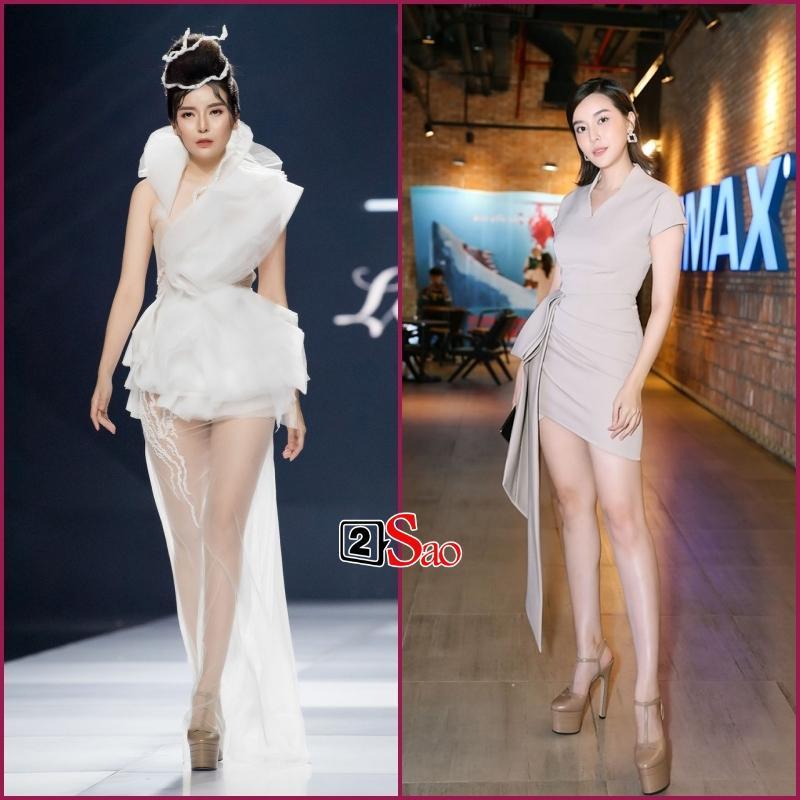 Đam mê đi cà kheo bằng giày 25cm: Hương Giang catwalk đầy thần thái, Nhã Phương cần cả chồng và trợ lý dìu-7
