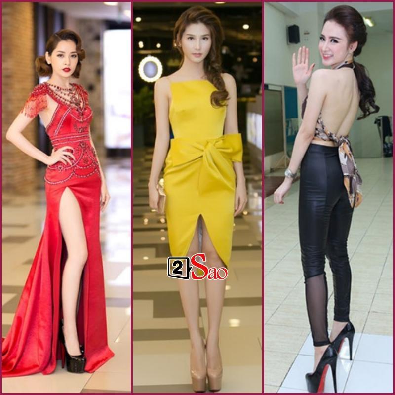 Đam mê đi cà kheo bằng giày 25cm: Hương Giang catwalk đầy thần thái, Nhã Phương cần cả chồng và trợ lý dìu-8
