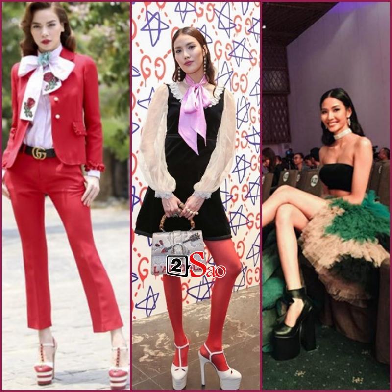 Đam mê đi cà kheo bằng giày 25cm: Hương Giang catwalk đầy thần thái, Nhã Phương cần cả chồng và trợ lý dìu-10