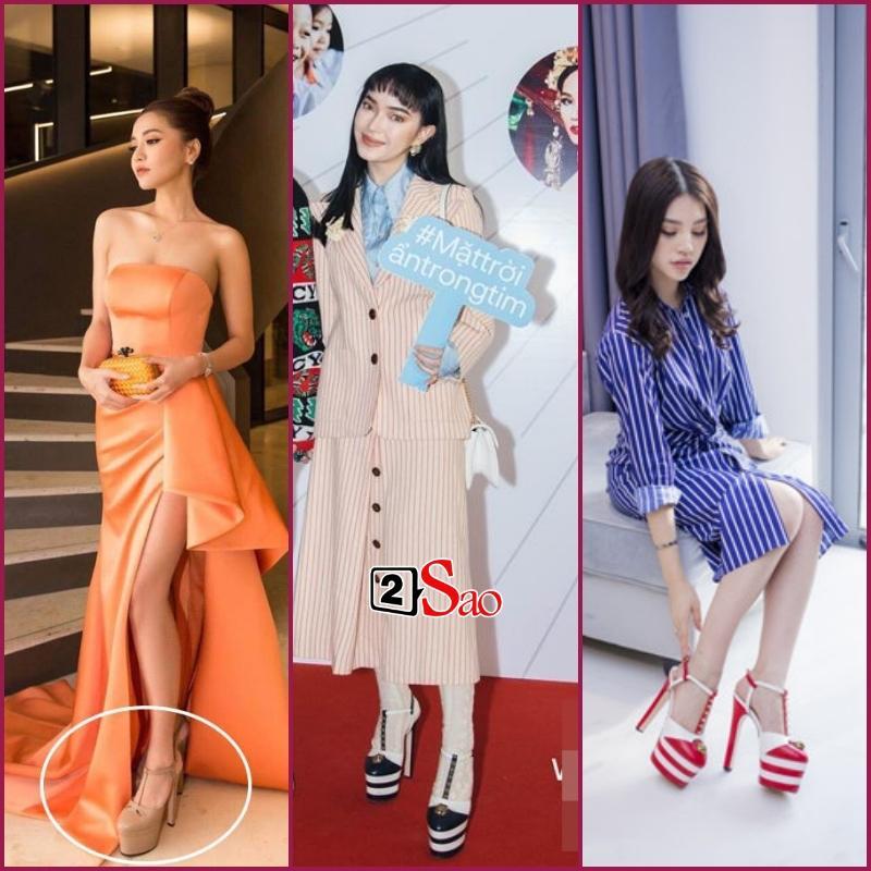 Đam mê đi cà kheo bằng giày 25cm: Hương Giang catwalk đầy thần thái, Nhã Phương cần cả chồng và trợ lý dìu-9