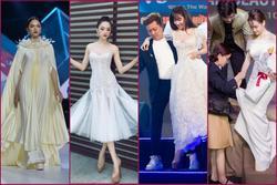 Đam mê 'đi cà kheo' bằng giày 25cm: Hương Giang catwalk đầy thần thái, Nhã Phương cần cả chồng và trợ lý dìu