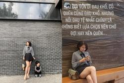 Ngọc Lan tự sự u buồn khiến tin đồn ly hôn Thanh Bình càng có thêm cơ sở