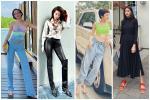 Tông tím sến sẩm được Hồ Ngọc Hà - Hương Giang mix&match cao tay từ thảm đỏ đến street style-13
