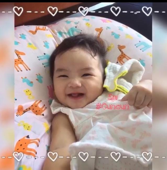 Chọn đúng ngày sinh nhật, bà xã Hoài Lâm công khai con gái xinh xắn như thiên thần-2