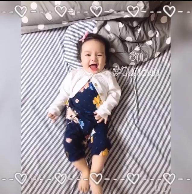 Chọn đúng ngày sinh nhật, bà xã Hoài Lâm công khai con gái xinh xắn như thiên thần-3