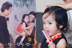 Chọn đúng ngày sinh nhật, bà xã Hoài Lâm công khai con gái xinh xắn như thiên thần