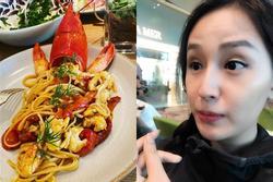 Vừa ăn xong món ngon, hoa hậu Mai Phương Thúy lại âu sầu vì cân nặng lập tức tăng trưởng