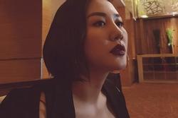 Sau lùm xùm đăng ký kết hôn giả, Văn Mai Hương khoe ảnh do người yêu chụp