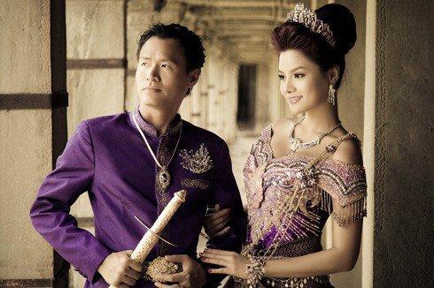 Vũ Thu Phương đính chính chồng không thuộc Hoàng tộc Campuchia, con chung - con riêng biết phụ mẹ tiền học-1