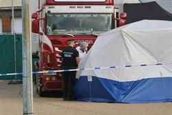 Manh mối quan trọng mới trong vụ 39 người chết trong công-ten-nơ