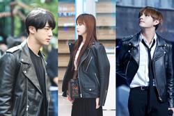 Học cách mặc áo khoác da đẹp như Jin (BTS) và dàn sao Hàn Quốc