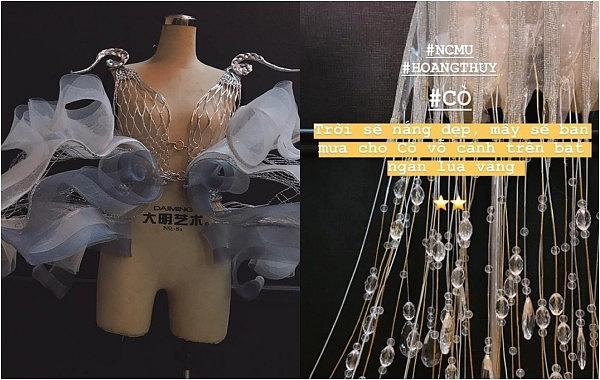 Lộ diện 1 trong 3 trang phục dân tộc của Hoàng Thùy tại Miss Universe: Sẽ sexy đến tột cùng?-3