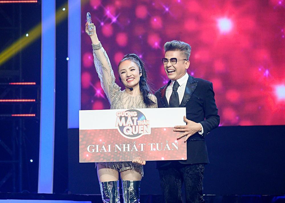 Đầu tư cả bộ móng tay giống Hồ Ngọc Hà, Nhật Thủy giành luôn giải nhất tuần Gương mặt thân quen-5