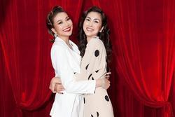 Lâu lắm mới chụp hình chung, Hà Tăng - Thanh Hằng gây thích thú với vẻ ngoài như chị em