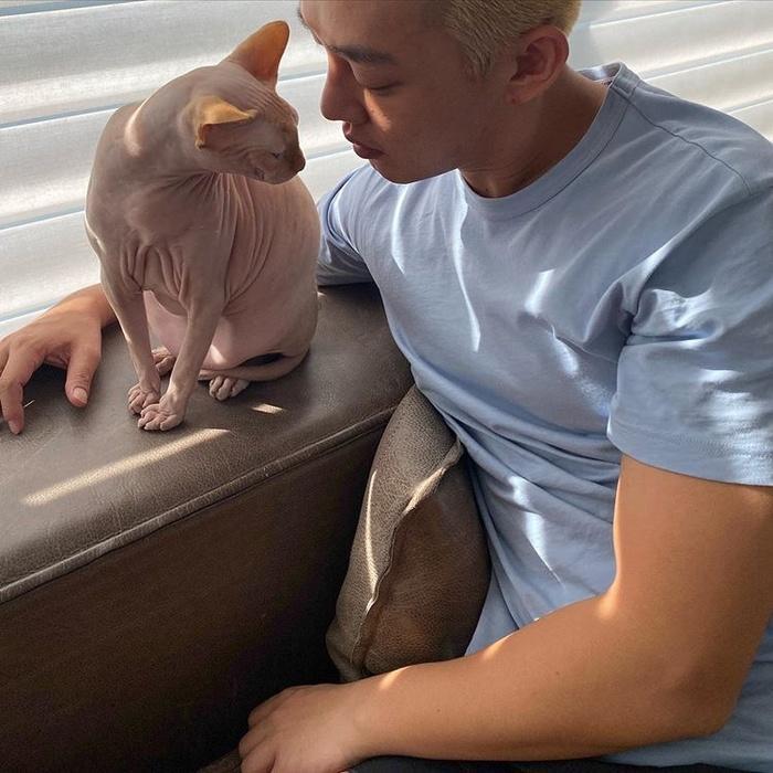 Sự thật về việc Yoo Ah In nuôi mèo cưng của Sulli-1