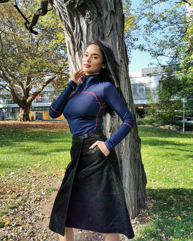 Bản tin Hoa hậu Hoàn vũ 3/11: Hoàng Thùy lên đồ xuất sắc, tuy kín mít vẫn chặt cả dàn giai nhân-7