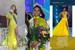 Quá thần tượng H'Hen Niê, người đẹp nước Mỹ nhất quyết mặc váy màu vàng để thi Miss Earth 2019