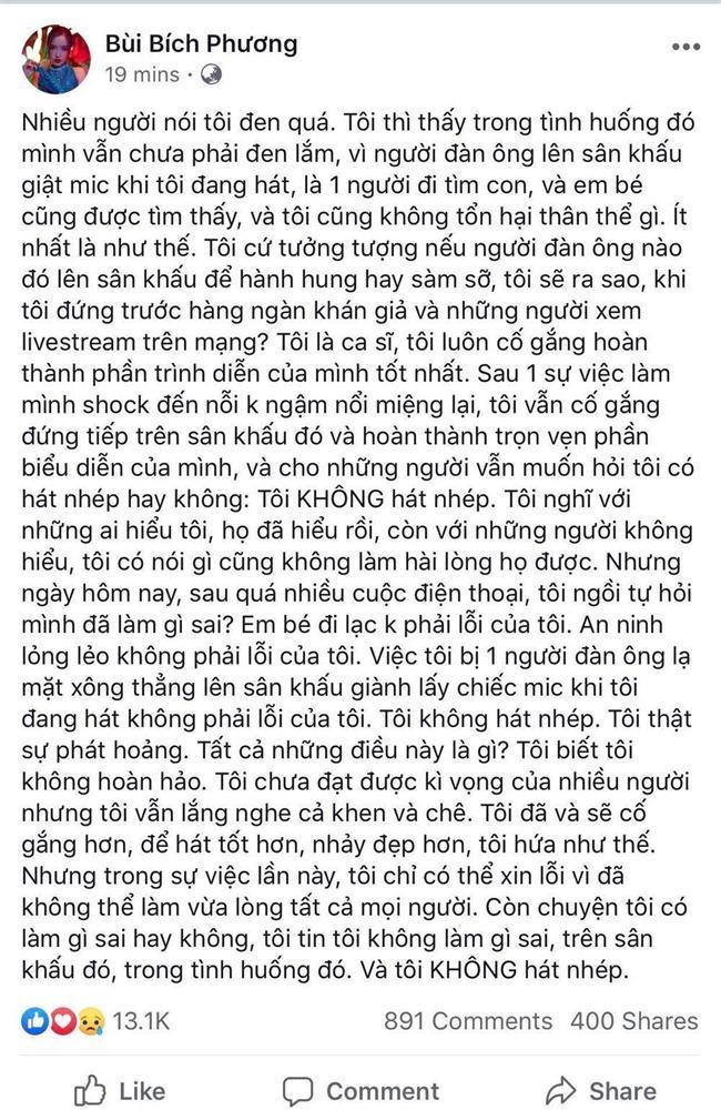 Khắc Việt bênh vực Bích Phương giữa nghi án hát nhép trên sân khấu-4