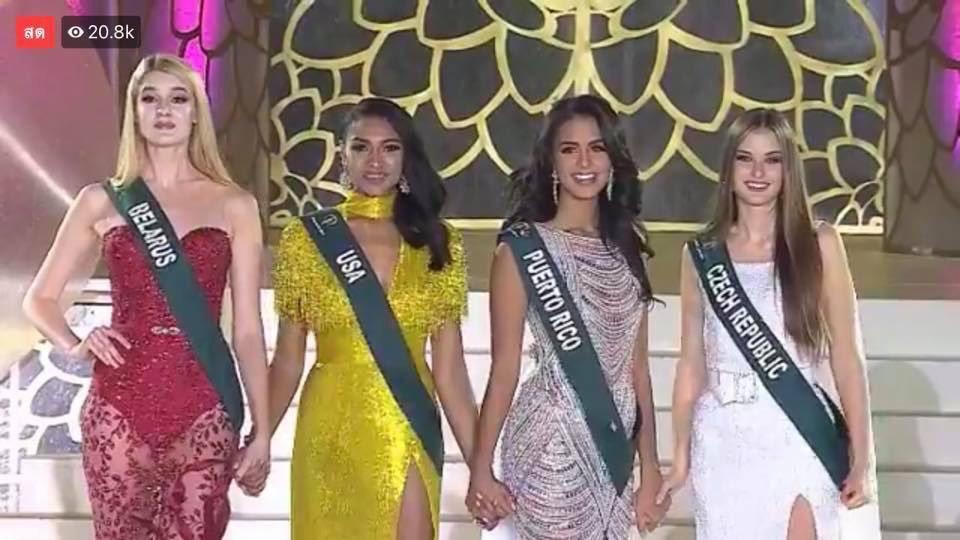 Quá thần tượng HHen Niê, người đẹp nước Mỹ nhất quyết mặc váy màu vàng để thi Miss Earth 2019-1