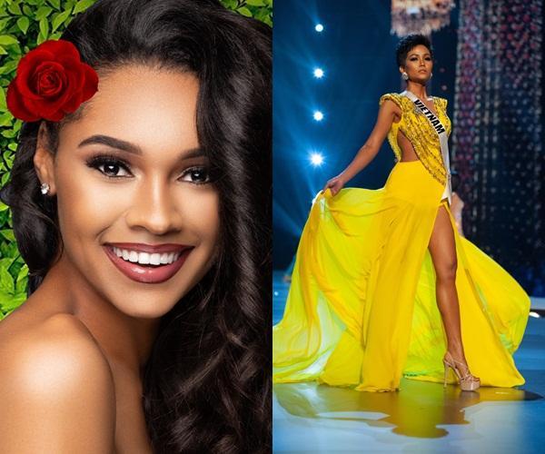 Quá thần tượng HHen Niê, người đẹp nước Mỹ nhất quyết mặc váy màu vàng để thi Miss Earth 2019-5