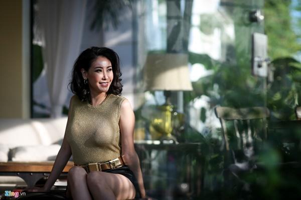 Hà Kiều Anh: Cảnh nóng với Chi Bảo là quyết định táo bạo của tôi-1