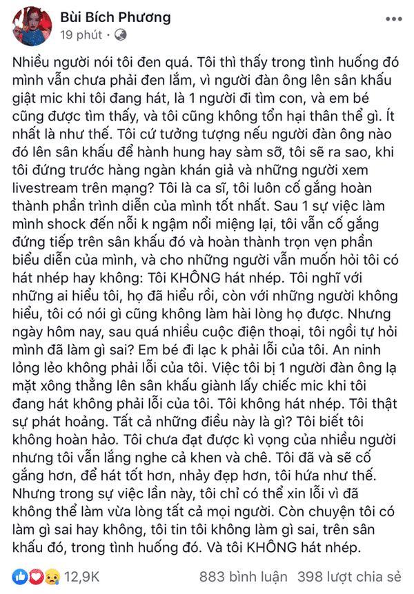 Bích Phương được cả showbiz Việt bênh vực sau nghi vấn hát nhép-1