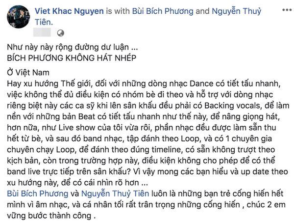 Bích Phương được cả showbiz Việt bênh vực sau nghi vấn hát nhép-2