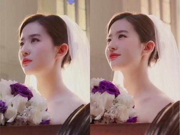 Thần tiên tỉ tỉ Lưu Diệc Phi gây náo loạn với loạt ảnh cưới, giai nhân tuyệt mỹ đẹp từng góc độ-6