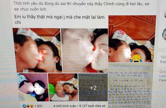 Sốc: Nữ sinh lớp 10 viết tâm tư tự nguyện trao thân cho thầy giáo 55 tuổi, một loạt ảnh nóng tràn lan trên mạng-3