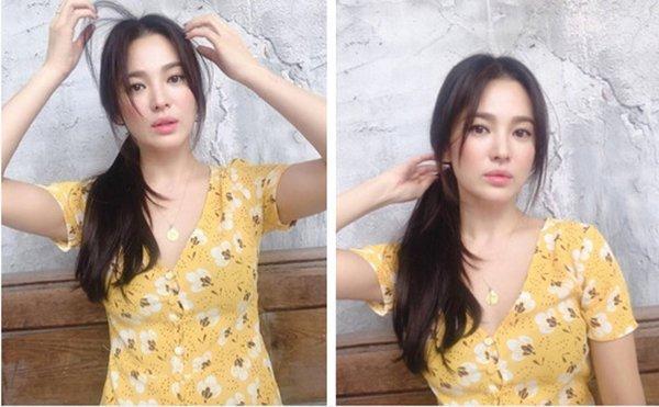 Song Hye Kyo bất ngờ lên sóng với mái tóc tém ngắn cũn, fans dụi mắt mãi mới nhận ra-6