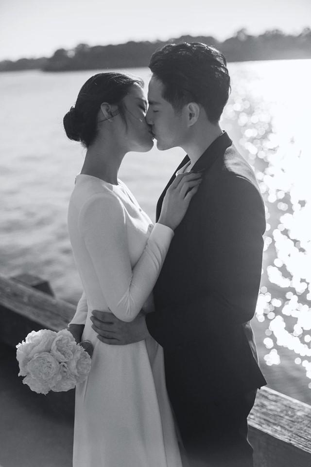 Đông Nhi hôn Ông Cao Thắng nồng cháy trong bộ ảnh cưới đẹp như mơ tại Sydney-1