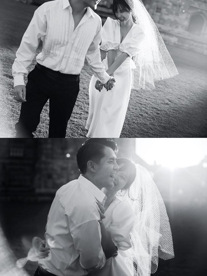 Đông Nhi hôn Ông Cao Thắng nồng cháy trong bộ ảnh cưới đẹp như mơ tại Sydney-3