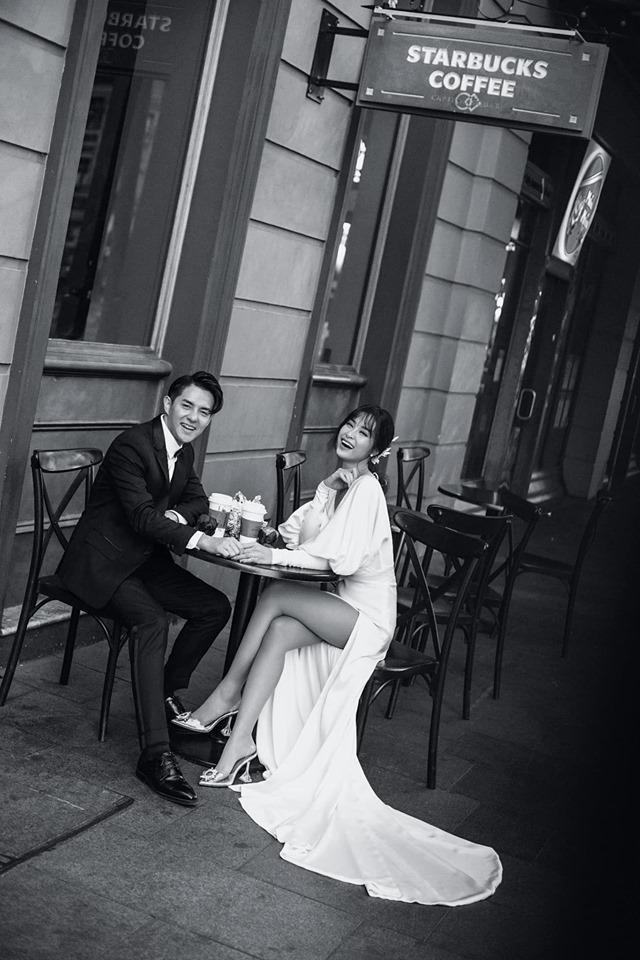 Đông Nhi hôn Ông Cao Thắng nồng cháy trong bộ ảnh cưới đẹp như mơ tại Sydney-10