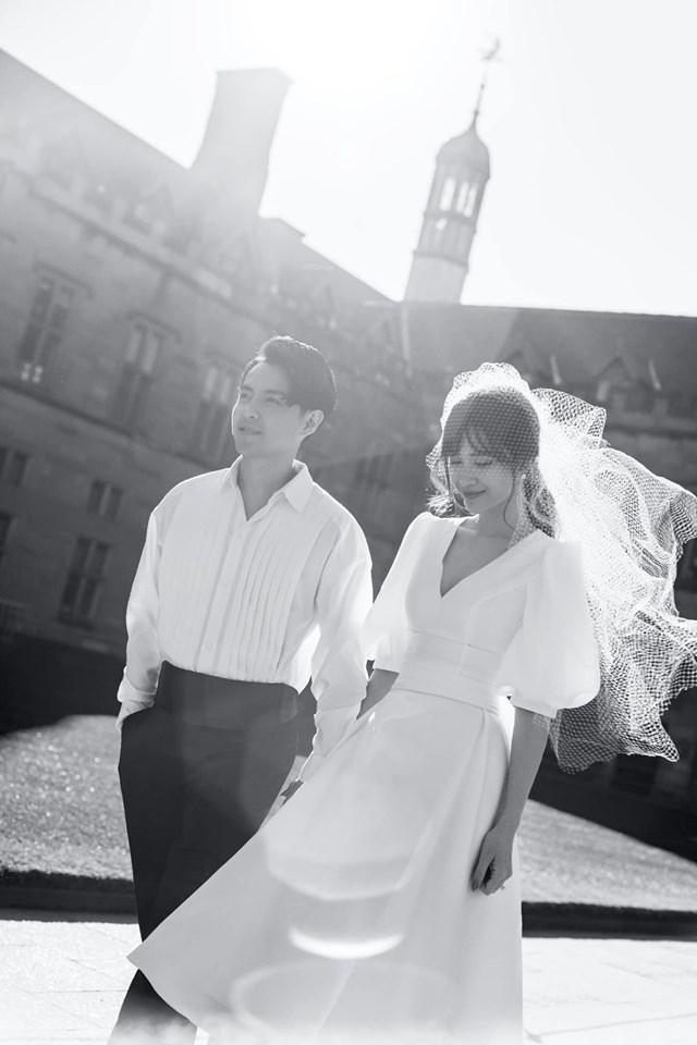 Đông Nhi hôn Ông Cao Thắng nồng cháy trong bộ ảnh cưới đẹp như mơ tại Sydney-7