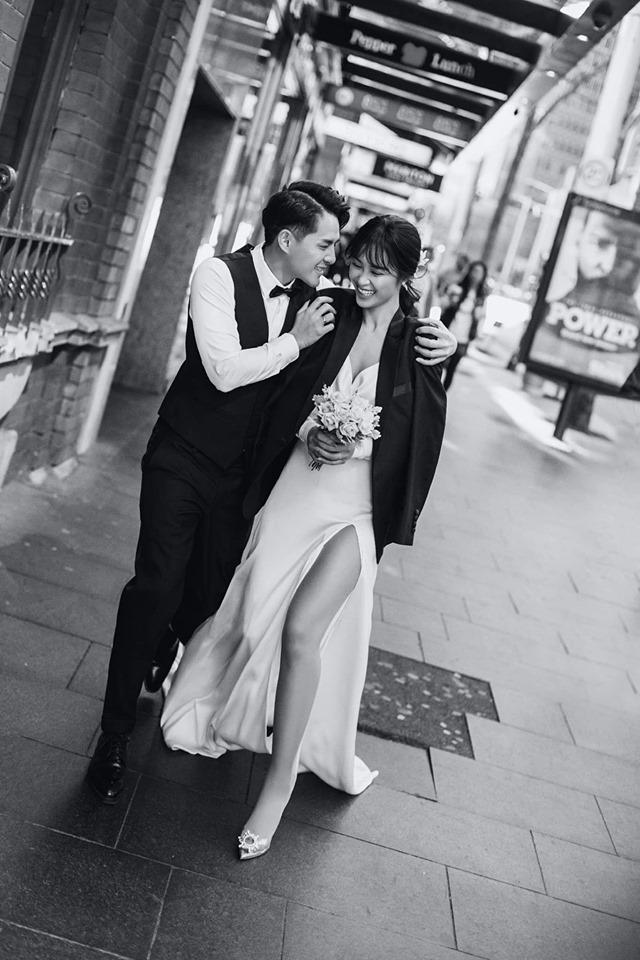 Đông Nhi hôn Ông Cao Thắng nồng cháy trong bộ ảnh cưới đẹp như mơ tại Sydney-8