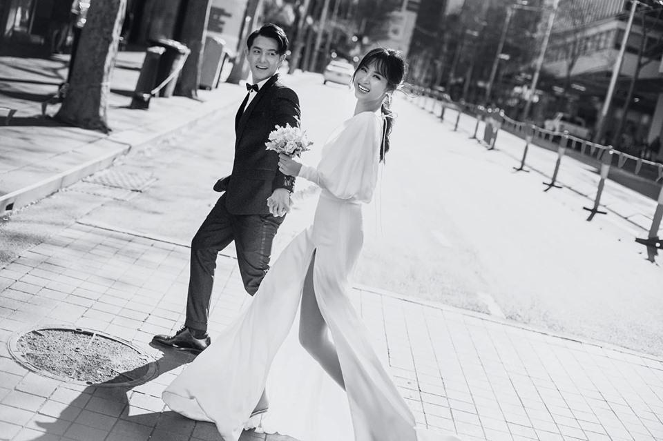 Đông Nhi hôn Ông Cao Thắng nồng cháy trong bộ ảnh cưới đẹp như mơ tại Sydney-9