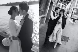 Đông Nhi hôn Ông Cao Thắng nồng cháy trong bộ ảnh cưới đẹp như mơ tại Sydney