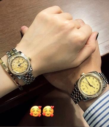 Em chồng Tăng Thanh Hà lại khiến fan phát hờn khi sắm đồng hồ đôi hàng trăm triệu cho người yêu-2