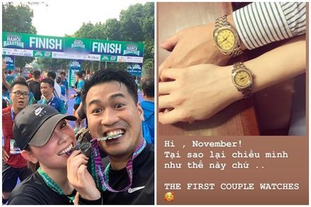 Em chồng Tăng Thanh Hà lại khiến fan phát hờn khi sắm đồng hồ đôi hàng trăm triệu cho người yêu
