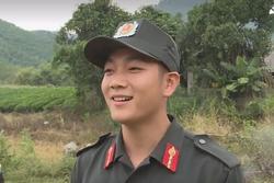 Chiến sĩ CSCĐ bất ngờ nổi tiếng sau khi xuất hiện trên truyền hình