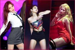 5 biểu tượng sexy Kpop thường mặc đồ hở, bó sát lên sân khấu