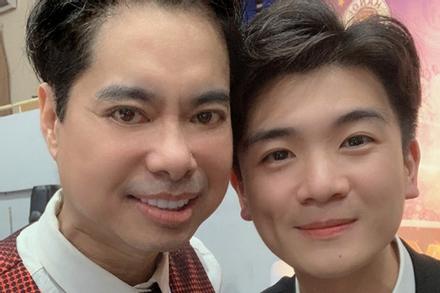 Con trai bầu Hiển và Ngọc Sơn hát 'Vầng trăng cô đơn'
