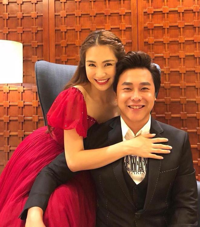 Hòa Minzy và bạn trai Minh Hải.
