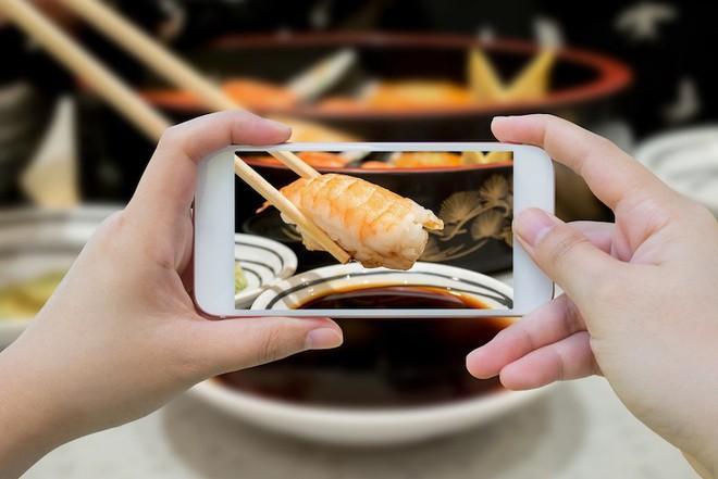 Nguyên tắc chụp ảnh, quay phim trong nhà hàng ở Nhật Bản-1