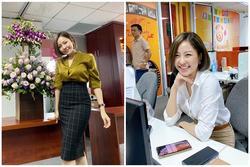 Sau scandal lộ clip 18+ và hút mỡ bụng, hot girl Trâm Anh chuộng phong cách công sở kín đáo
