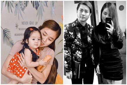 Sau công khai diện mạo con gái, vợ Hoài Lâm tiết lộ lí do không đăng ảnh cả 2 con