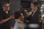 Đông Nhi tình tứ chăm chút cho Ông Cao Thắng trong hậu trường chụp ảnh cưới