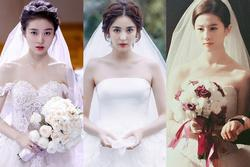 Triệu Lệ Dĩnh, Lưu Diệc Phi và dàn mỹ nhân Hoa ngữ đọ sắc với váy cưới